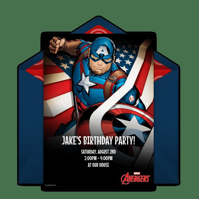 free avengers captain america online