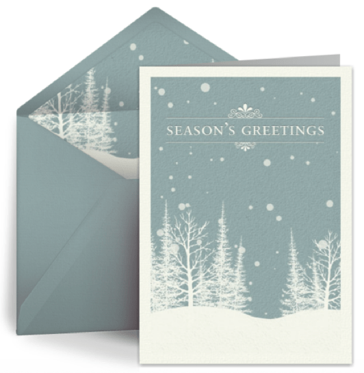 Go Green With Eco Friendly Christmas ECards