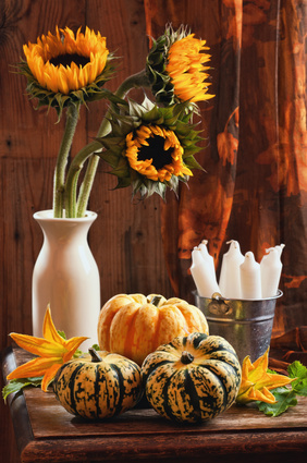 Simple Decorations For Fall Party Planning