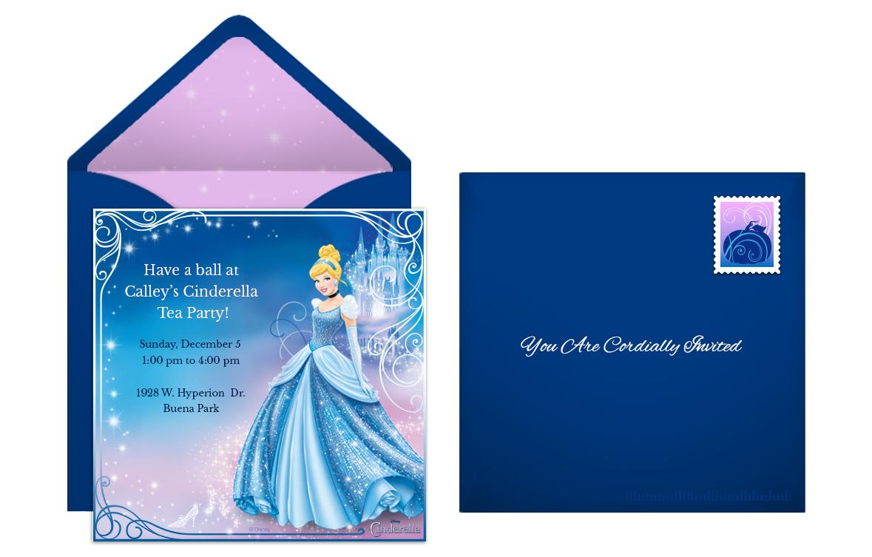 plan a fairytale cinderella birthday party