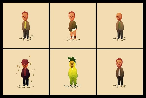 Breaking Bad: The Six Faces of Walter White