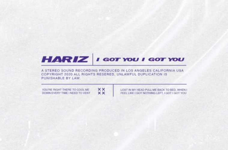 HARIZ – I Got You (Official Audio)