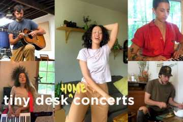Dirty Projectors: Tiny Desk (Home) Concert