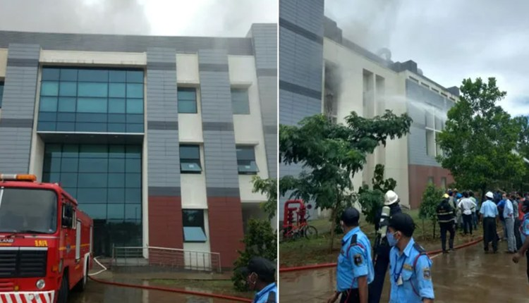 Pune Fire News | fire-breaks-out-inside-indian-institute-of-science-education-and-research-pune-update