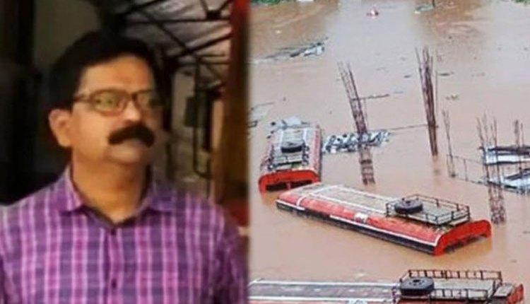Maharashtra Flood | bus depot manager camps top bus 10 hours guard government money amid floods