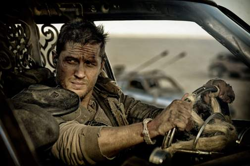 Tom Hardy as Mad Max in Fury Road.