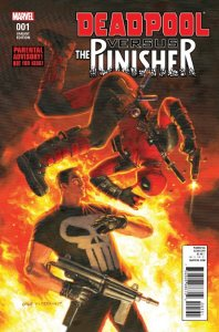 Deadpool vs. Punisher 1c Hildebrandt Variant