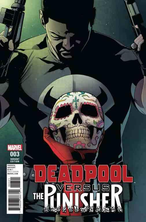 Deadpool vs. The Punisher #3 Pere Perez Variant