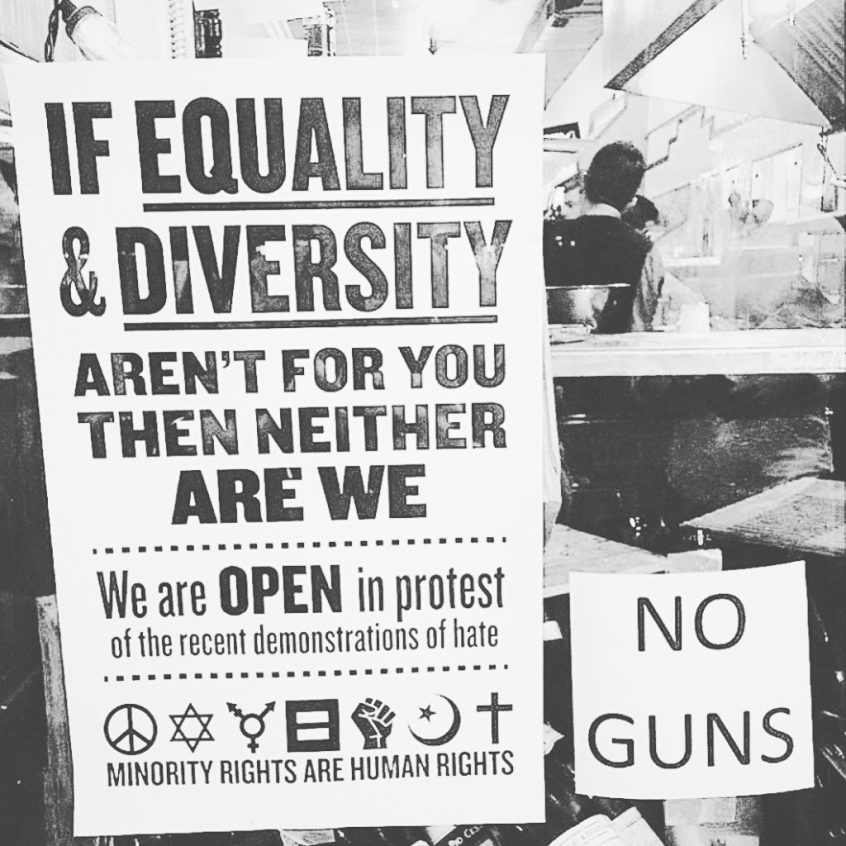 Equality and Diversity in Charlottesville