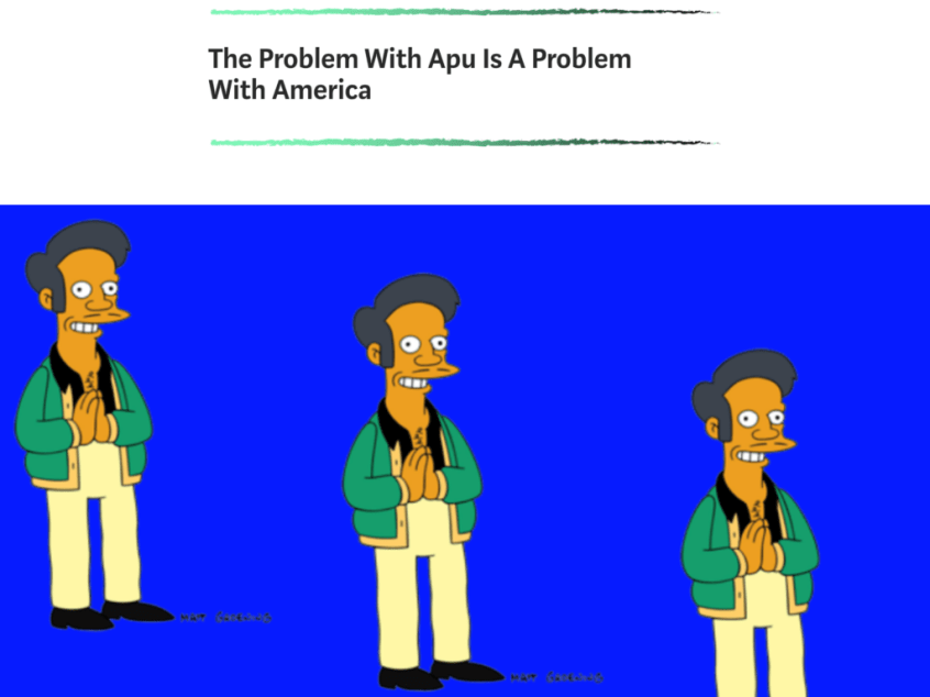 The Problem with Apu is a Problem with America