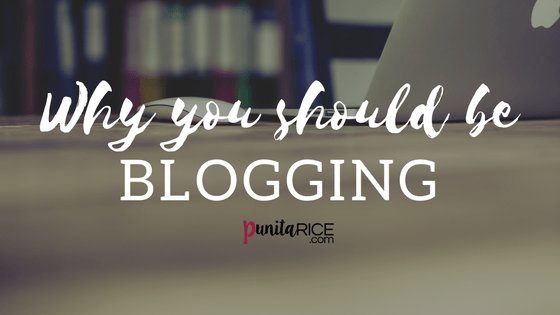 Why blog? 5 Reasons you should be blogging