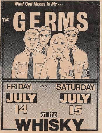 Image result for the germs punk poster