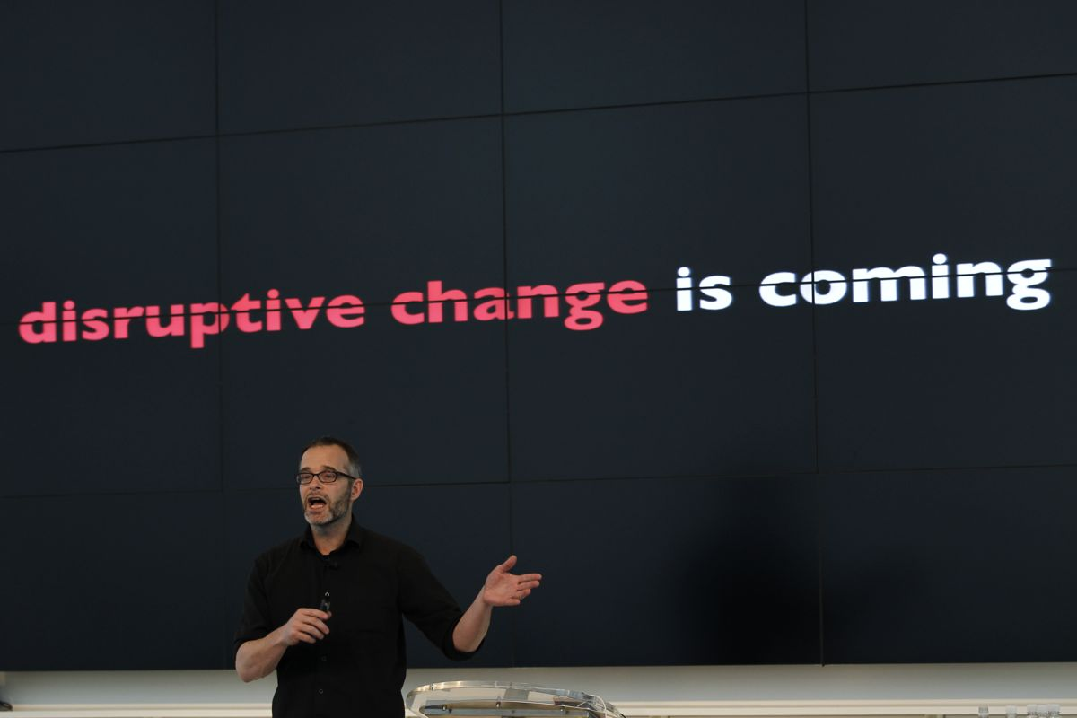 Disruptive change is coming copy