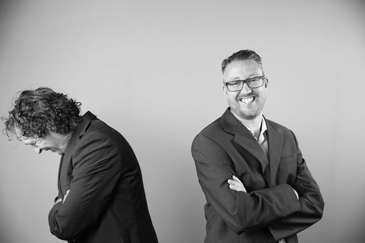 Richard en Jan Willem lachen copy