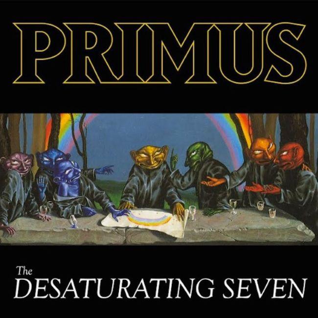 primus the desaturating seven album artwork Primus shares The Desaturating Seven, the bands first album with its current lineup in 22 years: Stream