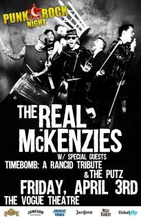 Real McKenzies vogue