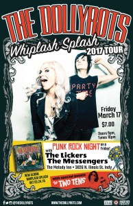Special Friday PRN show featuring The Dollyrots! with The Lickers, The Messengers, and The Two Tens @ The Melody Inn | Indianapolis | Indiana | United States