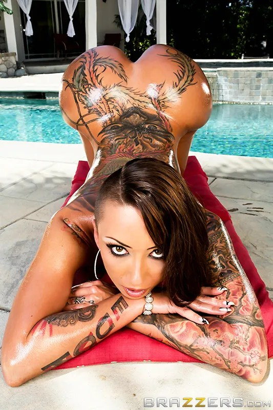 bella bellz booty tattooed inked anal pawg brazzers