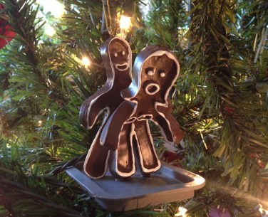 naughty gingerbread couple