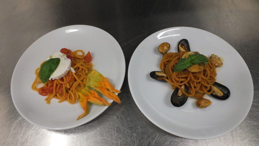 Platina-Milano spaghetti fiore di zucca