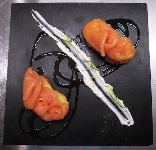 Salmone e panna acida _nordic grill