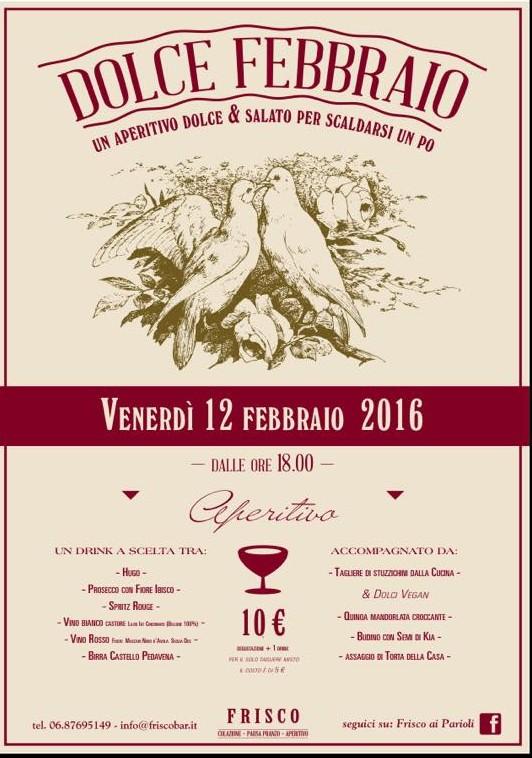 eventi roma febbraio 2016