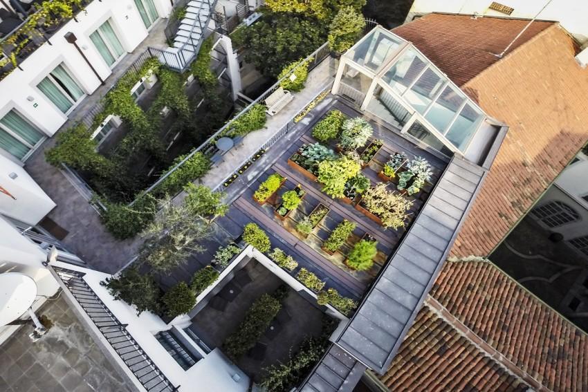 orto sul tetto milano