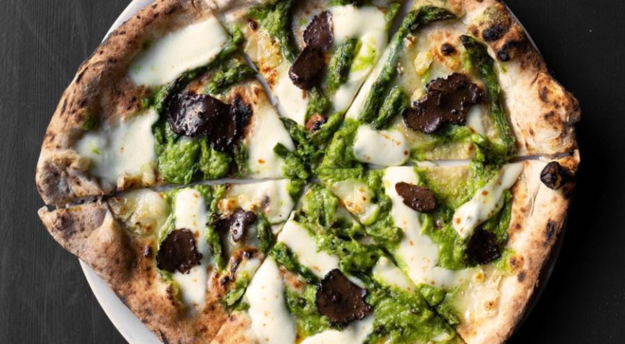 Pizza da Lievità con Savini Tartufi
