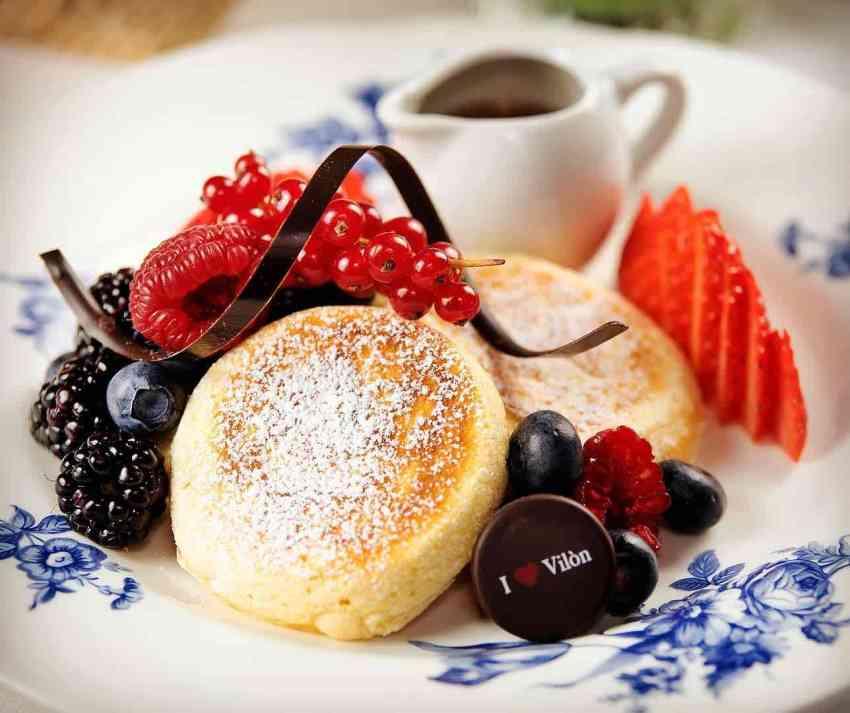 Hotel Vilòn Roma colazione