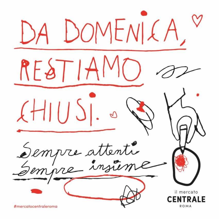 Mercato Centrale Roma chiusura