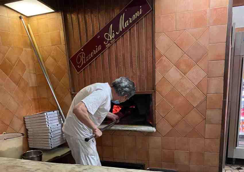 pizzeria ai marmi roma