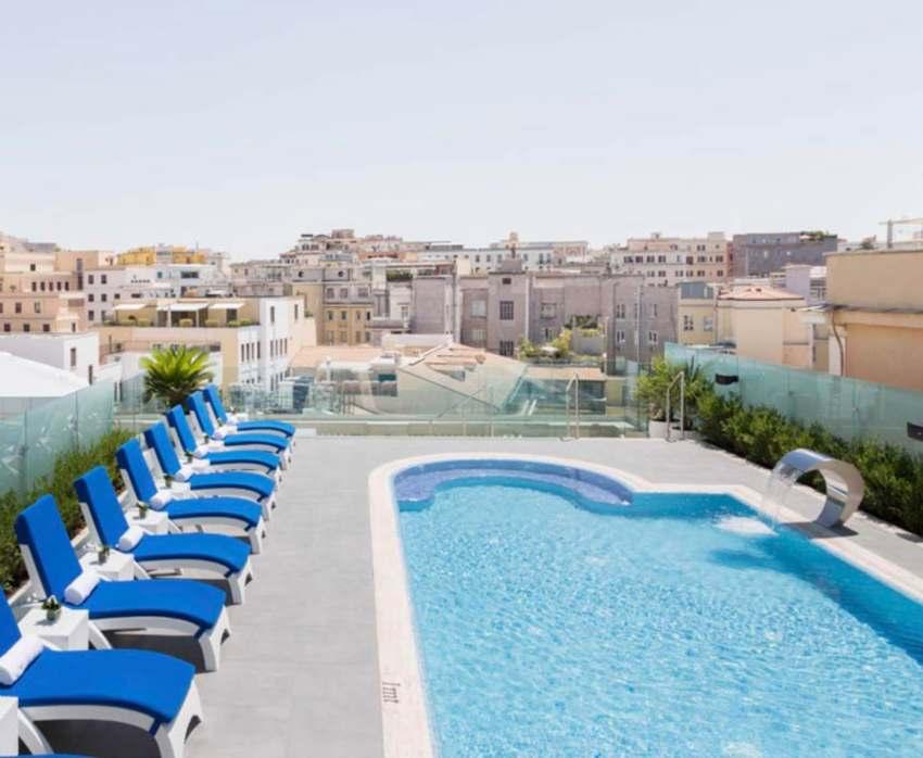 Aleph Hotel Sky Blue Terrace Roma