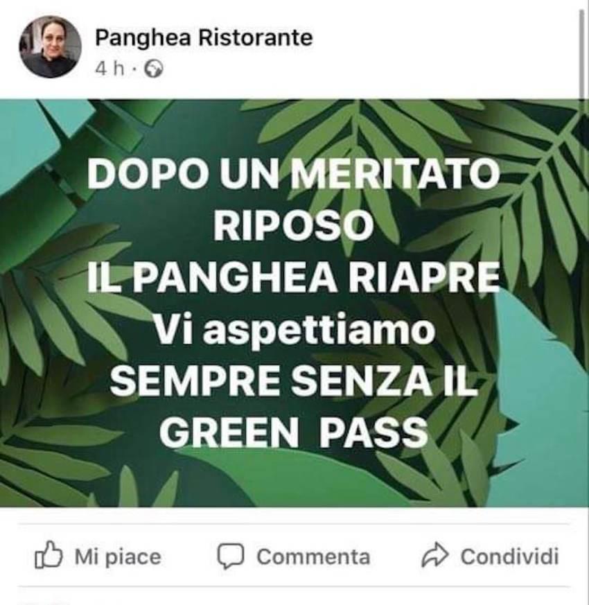 panghea milano green pass_