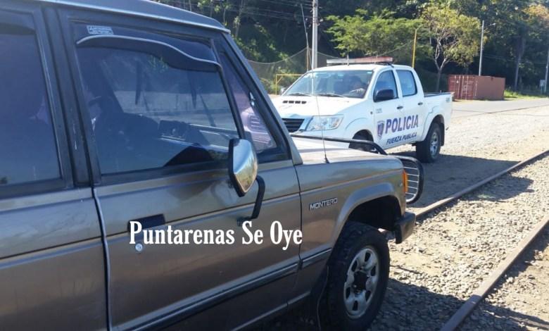 Photo of Fuerza Pública encuentra vehículo en Caldera que fue reportado como robado