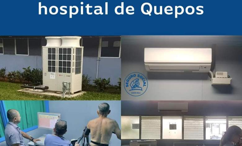 Photo of Aire fresco dará confort a usuarios del hospital de Quepos