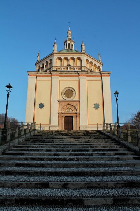 La chiesa di Crespi d'Adda