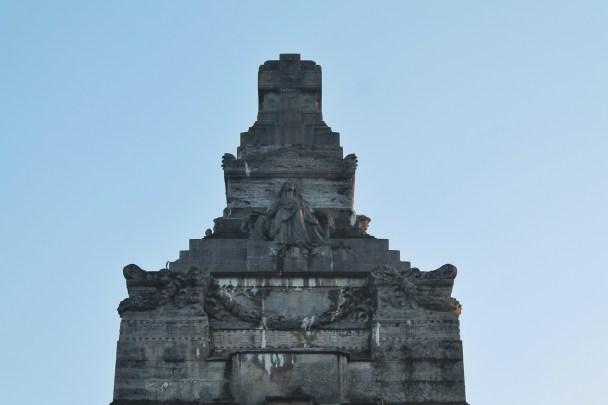 Il mausoleo della famiglia Crespi e le sue statue