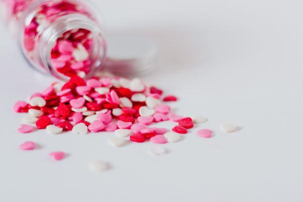 Pillole a forma di cuore