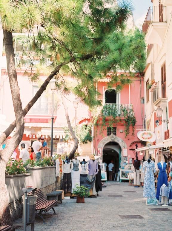Boutiques in Positano