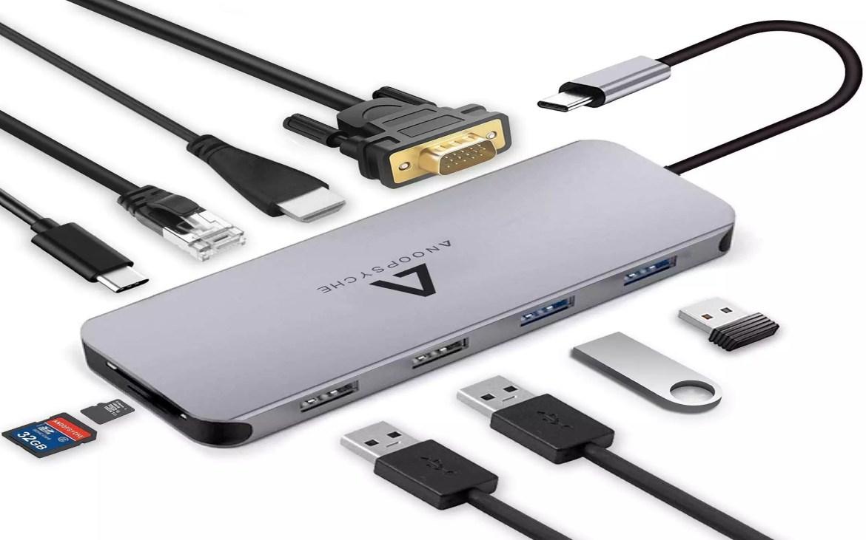 Anoopsyche Hub USB