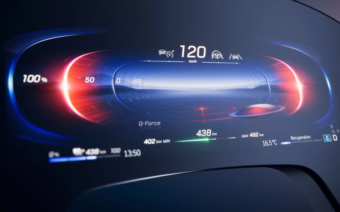 Mercedes-Benz: MBUX Hyperscreen