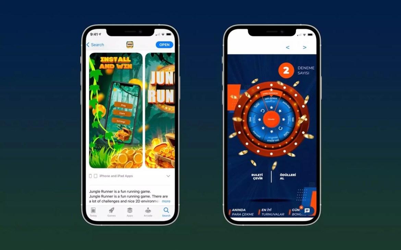 App Store scam kids game online casino
