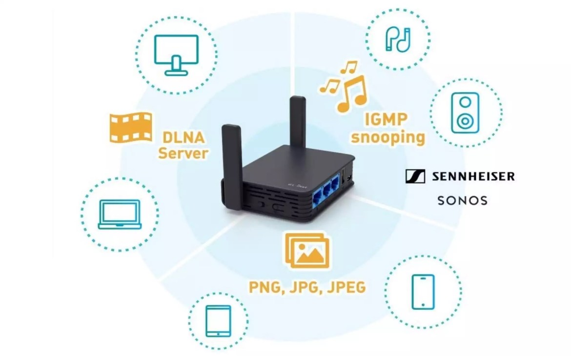 Router GL.iNet GL-AR750S OpenWrt - 2
