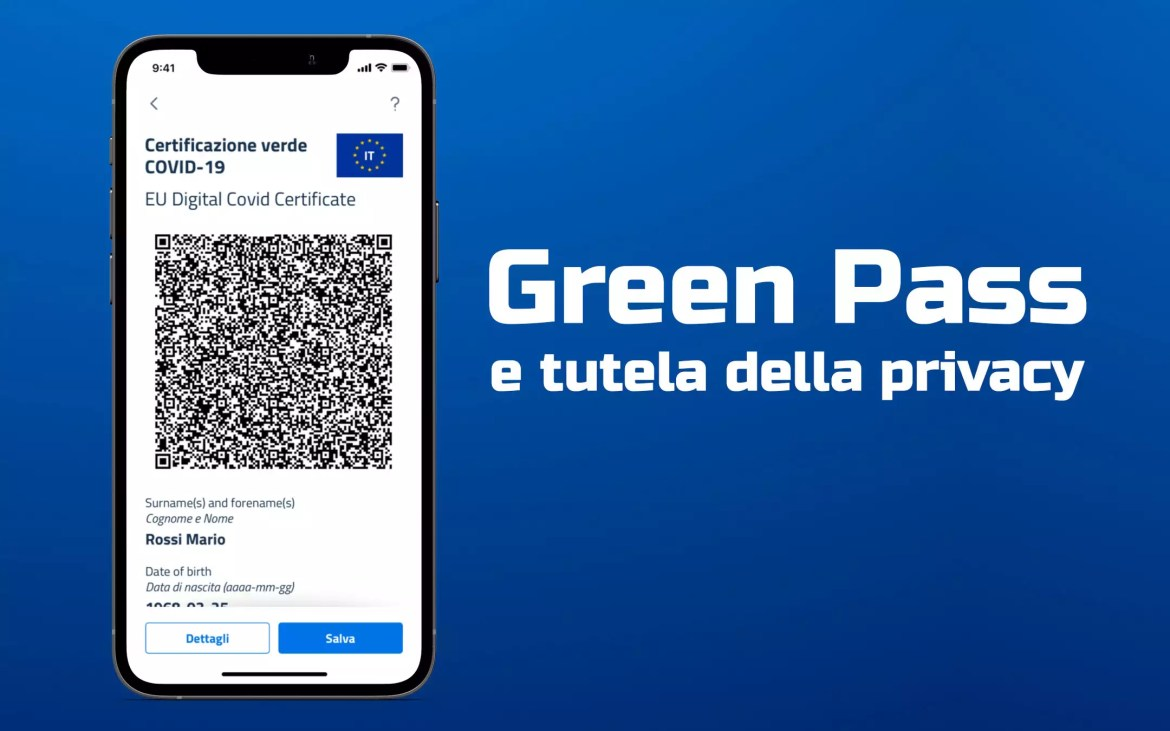 Green Pass, privacy