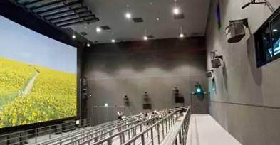 La proiezione Super Hi-vision all'Expo 2005 di Aichi