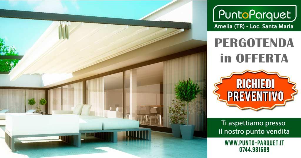 Il design delle tende da esterno è semplice ma elegante, per tende che si adattano alle abitazioni,. Promozione Pergotenda Telo In Pvc Struttura In Alluminio