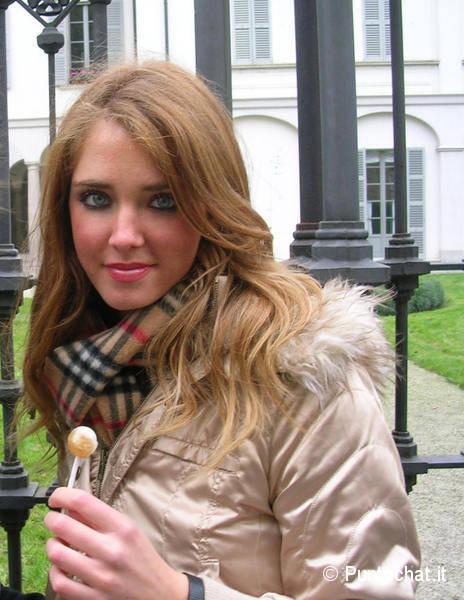 Chiara Ferragni Teenager