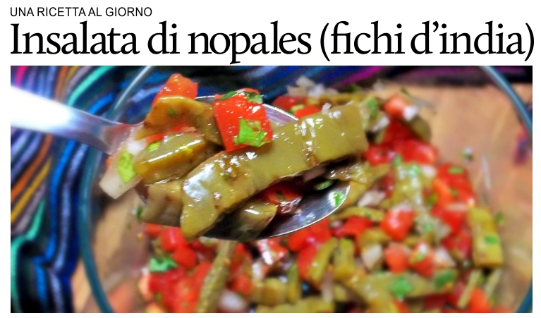 insalata di nopales