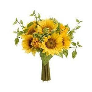 bouquet con girasoli