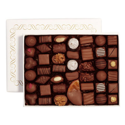 scatola di cioccolatini